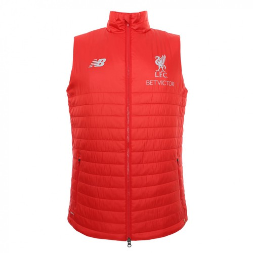 Mens Red Training Gilet 18/19