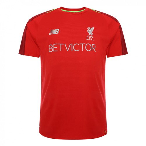 Red Short Sleeved LFC Training Top 2018/19