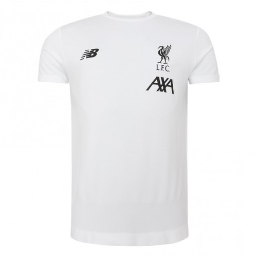 2019/20 LFC White Short Sleeve Training Shirt