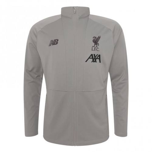 Grey 2019-20 Liverpool FC Travel Jacket - Mens
