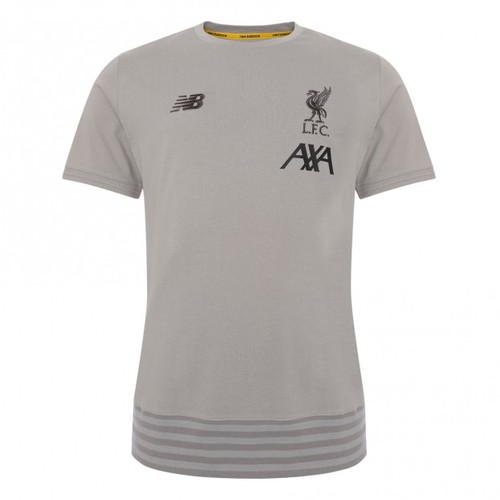 LFC Junior Grey Travel Tee 19/20