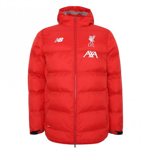 LFC Junior Red Base Hooded Jacket 19/20