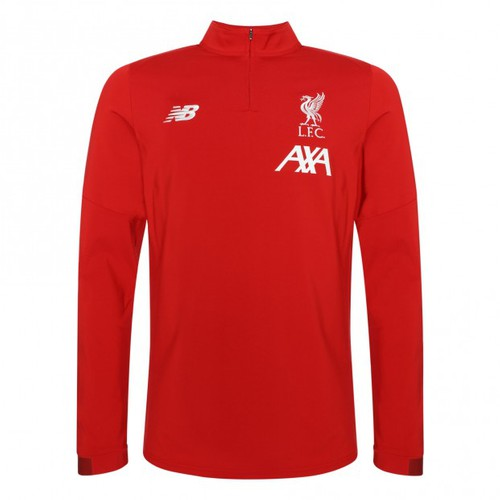 LFC Junior Red On Pitch Long Sleeve Midlayer 19/20