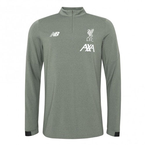 LFC Mens Midlayer Training Top Khaki 2019/20