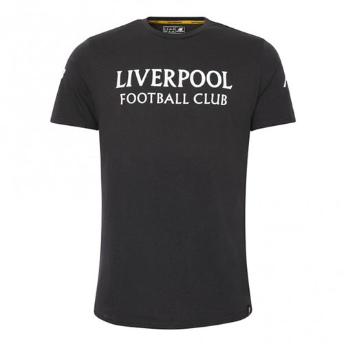LFC New Balance Grey Liverpool T-Shirt Mens