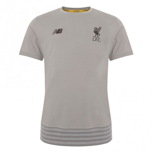 Liverpool FC Grey Travel T-Shirt Mens 19/20