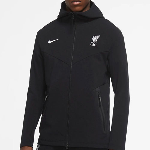LFC Black Tech Pack Zip Hoodie