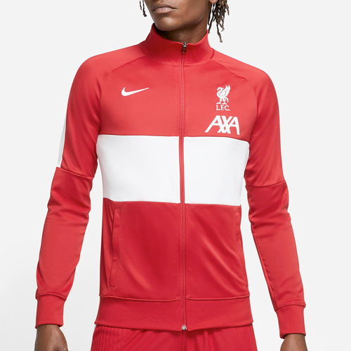 Red LFC Mens Nike Football Jacket