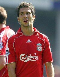 Luis Garcia of Liverpool