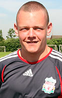 Liverpool's Jay Spearing