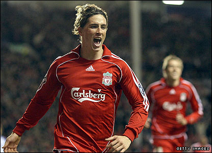 Torres goal against Porto
