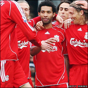 Jermaine Pennant scores against Fulham