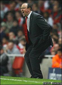 Benitez at the Emirates