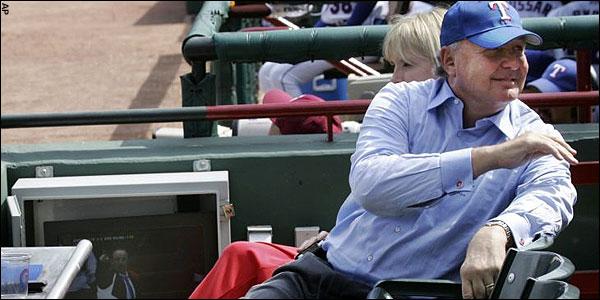 Tom Hicks prefers the Baseball
