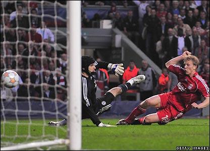Kuyt goal against Chelsea