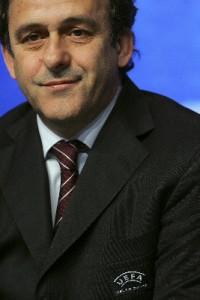 Platini - not a fans ambassador