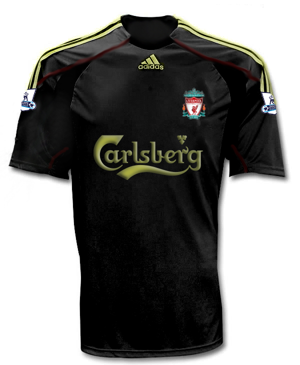 New Liverpool Away Shirt 2009/10