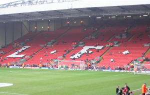 The Kop - helping the reds to titles till 1990.