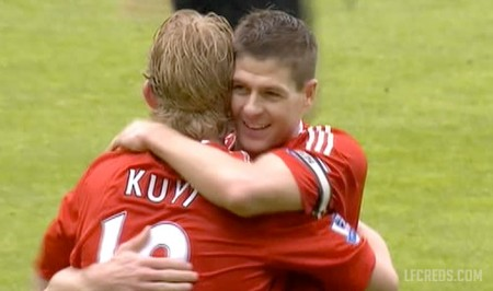 Dirk Kuyt scores against West Brom