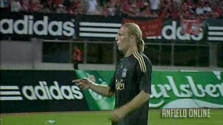 Voronin scores against Singapore