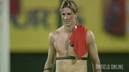 Torres - after the Singapore game