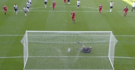 Gerrard equalises from the penalty spot