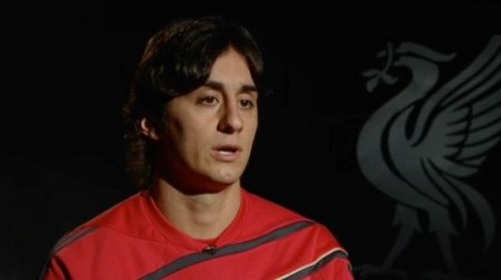 Alberto Aquilani - nearing his Liverpool debut
