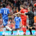 Gerrard assist for Chelsea Drogba [PicA]