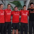 Liverpool FC Present New Signings Charlie Adam, Alexander Doni, Stewart Downing and Jordan Henderson