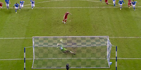 Charlie Adam penalty saved at Wigan