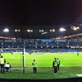 Etihad before the League Cup Semi Final