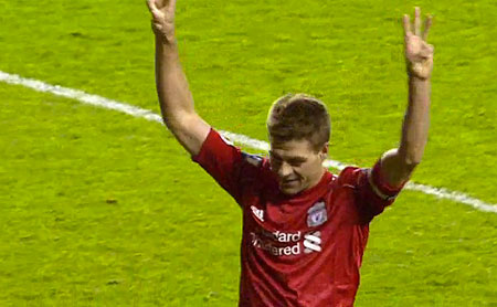 Gerrard - makes it three