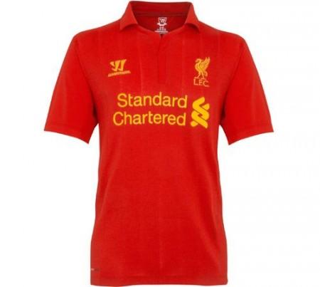 New LFC Home Shirt 2012-13