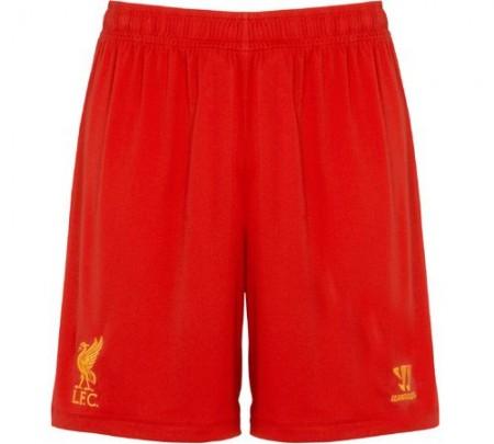 New LFC Home Shorts 2012-13
