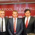 Brendan Rodgers, Tom Werner and Ian Ayre