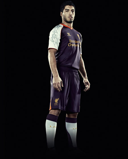 New Liverpool FC 3rd Kit 2012-13