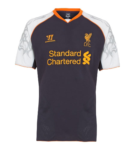 New Official Liverpool FC 3rd Shirt 2012-13