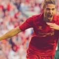 Fabio Borini gets his first Liverpool goal