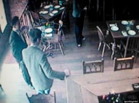 CCTV: Liverpool's communications chief Jen Chang met 'Duncan Jenkins' in Manchester