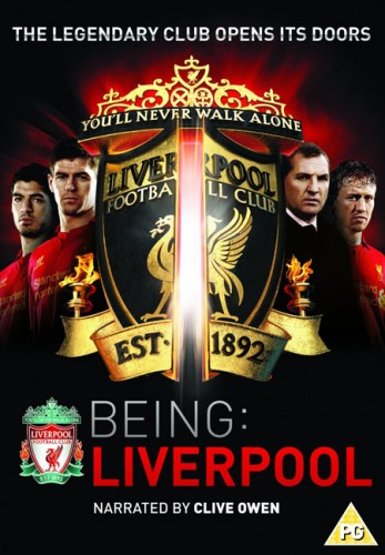Being Liverpool DVD - Front Cover