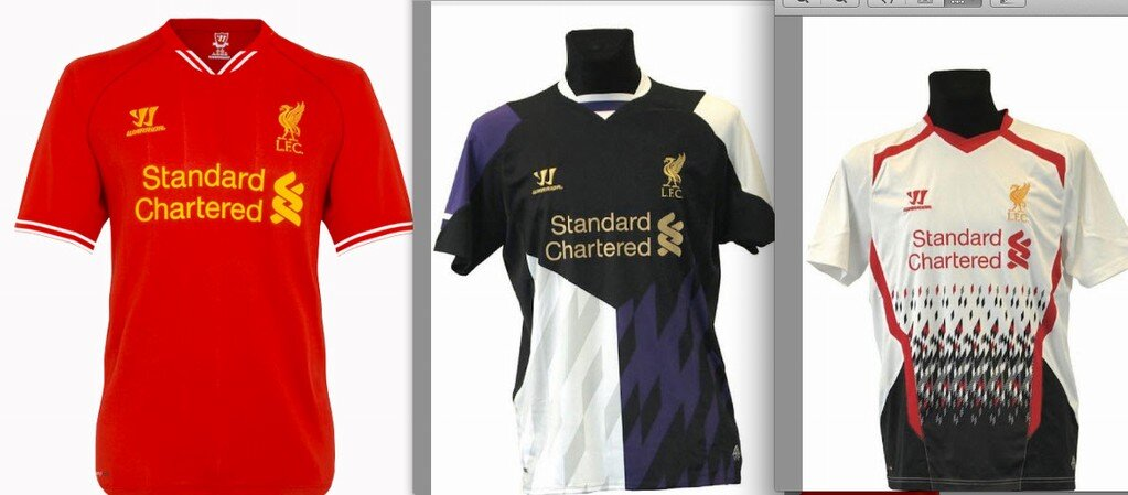 new concept 541bf 5d9f0 Liverpool FC kits for 2013-14 revealed online - Anfield Online