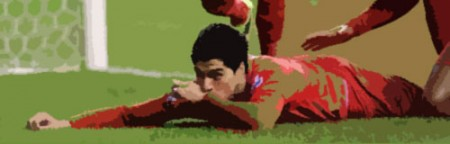 Suarez scores against Wigan