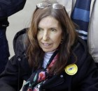Anne Williams attends the 24th Hillsborough Anniversary Service at Anfield