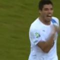 Luis Suarez goal Uruguay