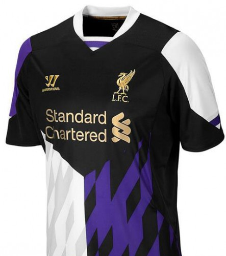 Liverpool Kit History 14: New Liverpool FC Third Kit For 2013-14 Is Here
