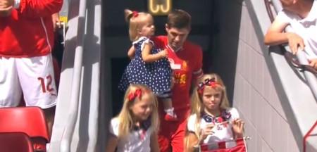 Steven Gerrard testimonial