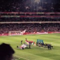 Arsenal beat Liverpool 2-0 at the Emirates Stadium