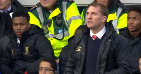 Sturridge, Rodgers and Sterling at Goodison Park
