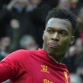 Daniel Sturridge celebrates his goal against Arsenal