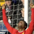 Sturridge celebrates goal against West Brom